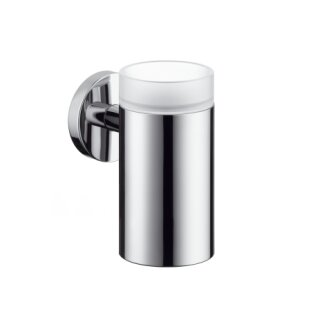 Hansgrohe 40518000 Zahnglas Logis chrom mit Halter